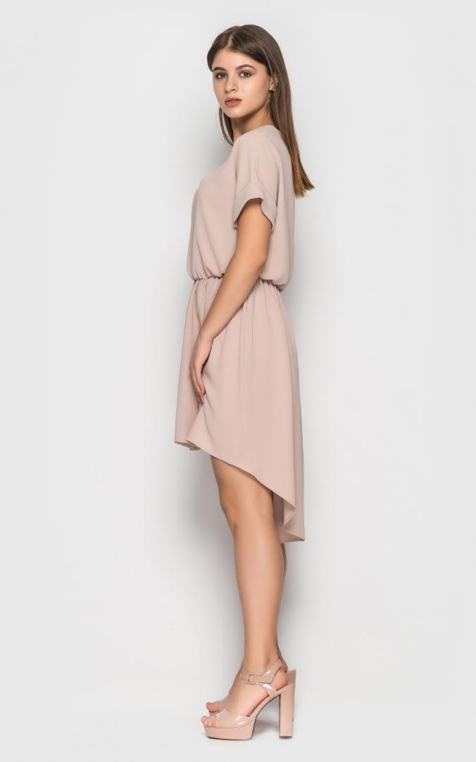 Асимметричное летнее платье