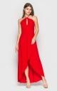 Яркое летнее платье (красное)