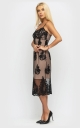 Витончена літня сукня (черна)