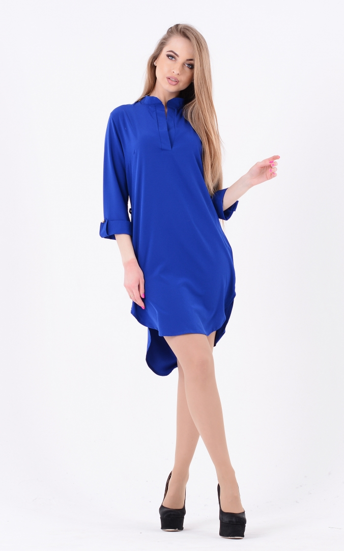 Light dress asymmetry (blue)