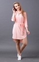 Light dress asymmetry (pink)