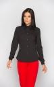 Классическая женская блуза (черная)