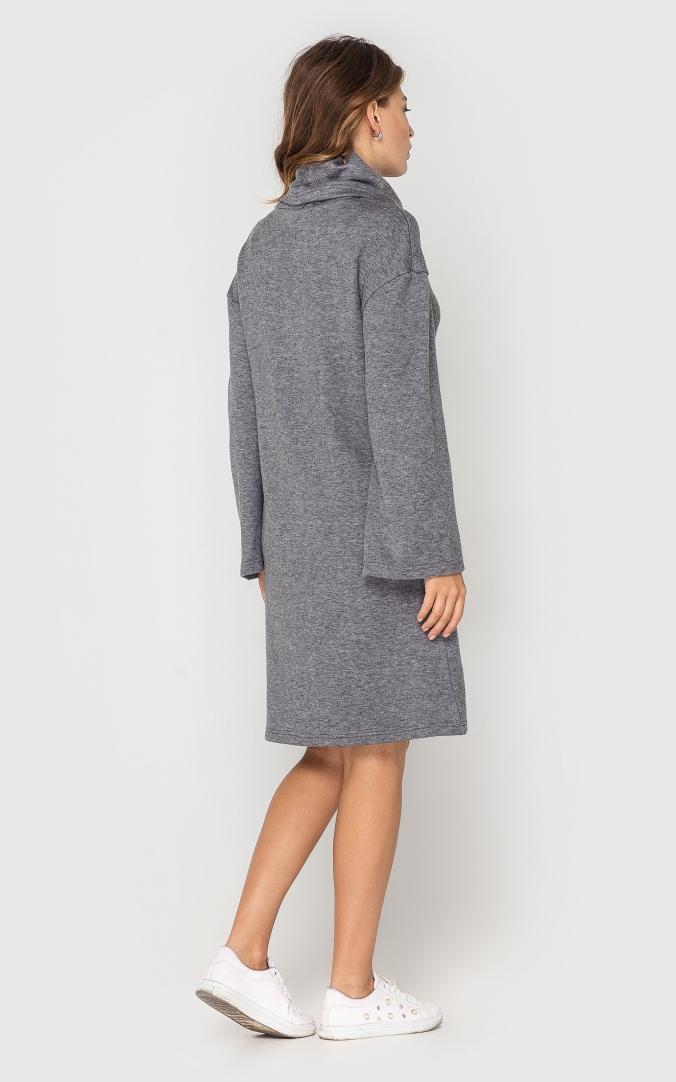 Тепле плаття (сіре)