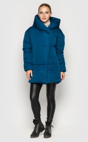 Подовжена куртка (синя)