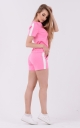 Summer two-piece suit (pink)
