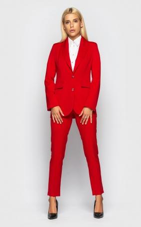 Костюм брючный (red)