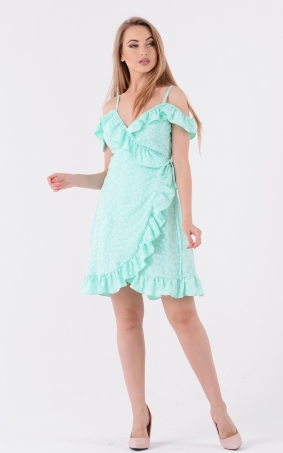 Bright sundress ryusha (mint)