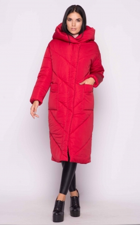 Extra long jacket (red)