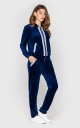 Velor suit (blue)