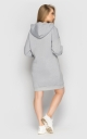 Dress warm with a hood (light gray)