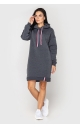 Dress warm with a hood (dark gray)