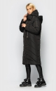 Extra long jacket with collar (black)