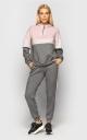 Sports suit angora (gray pink)