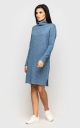 Warm Knit Dress (blue)