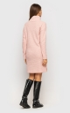 Warm Knit Dress (peach)