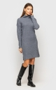 Warm Knit Dress (Gray)