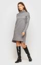 Warm Angora Dress (Gray)