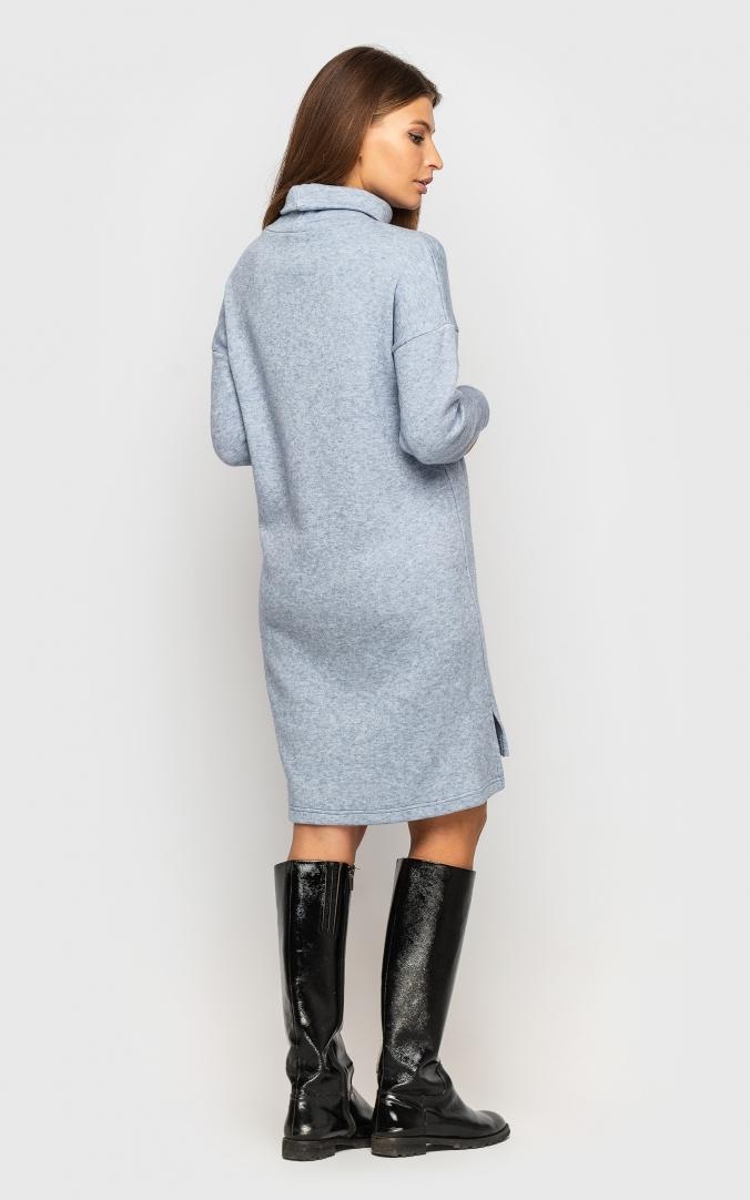 Warm Angora Dress (blue)