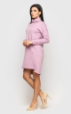 Тепле плаття ангора (рожеве)