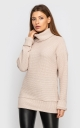 Knitted sweater (beige)