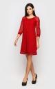 Элегантное вечернее платье (красное)