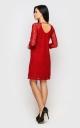 Елегантна вечірня сукня (червона)