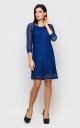 Елегантна вечірня сукня (синя)