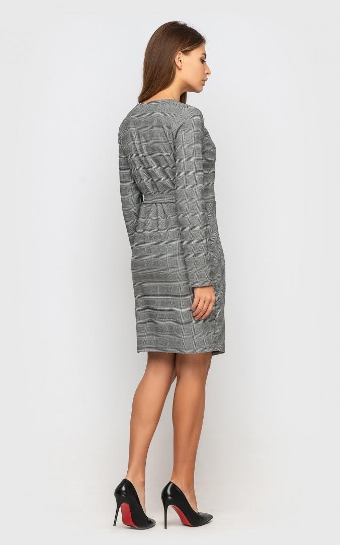 Платье (серое)