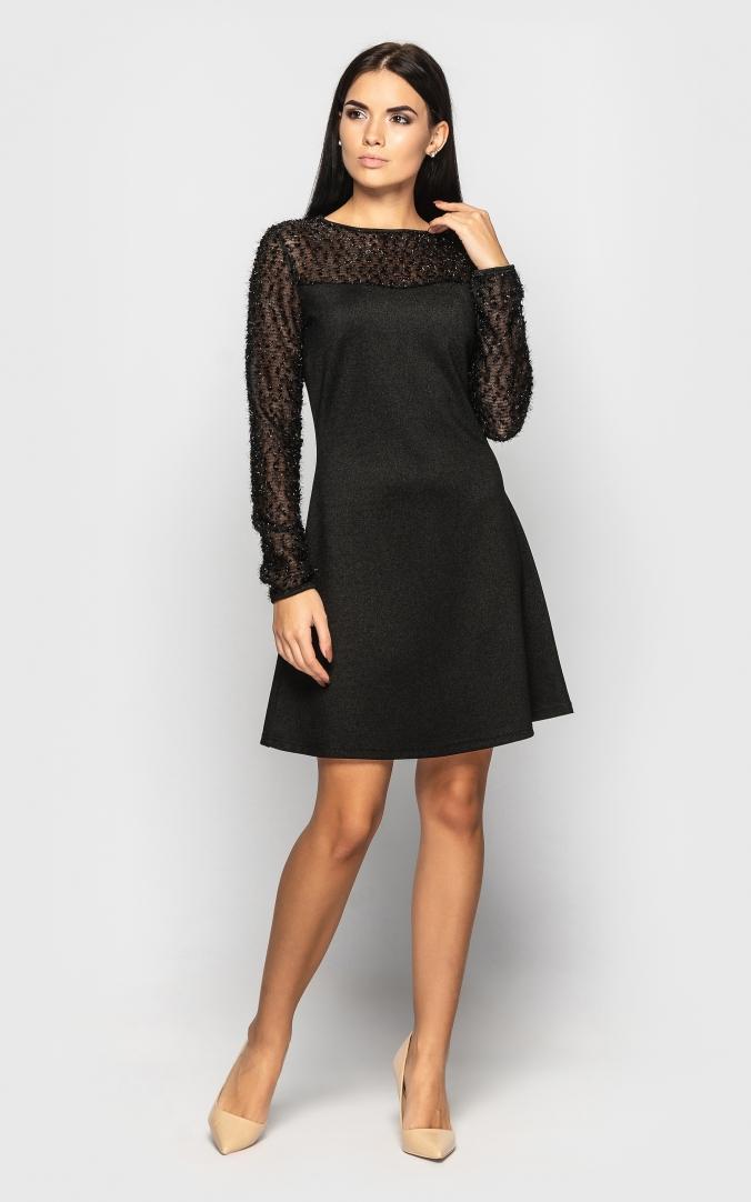 Плаття нарядне (чорне)