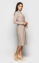 Warm dress by the smell (beige)