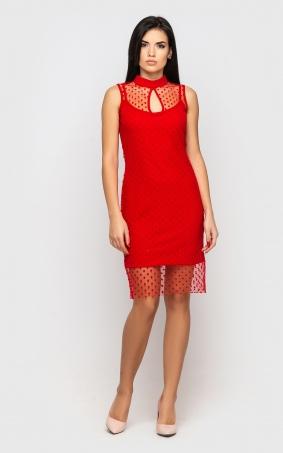 Dress is festive (red)