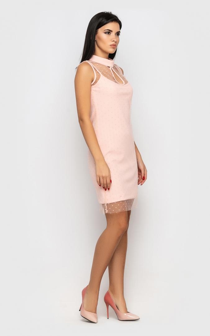 Dress is festive (pink)