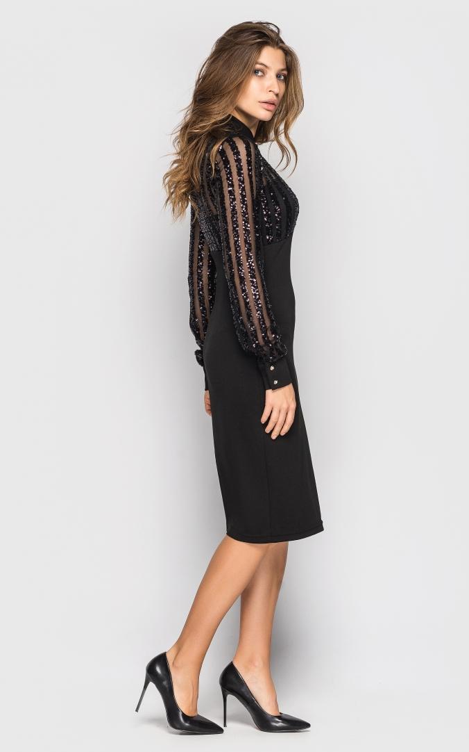 Elegant dress (Marsala)