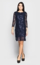 Святкова сукня (темно-сине)