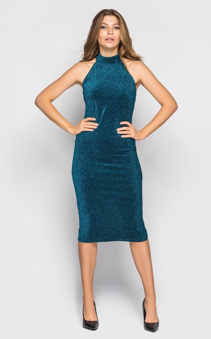 Elegant dress (turquoise)