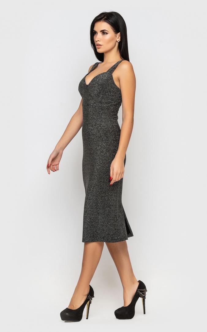 Сукня святкова (сіра)