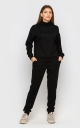 Warm suit with angora (black)