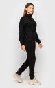 Теплый костюм ангора (черный)