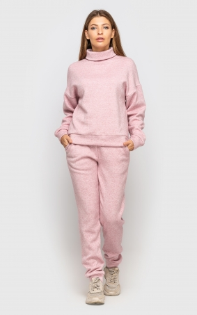Warm suit with angora (pink)