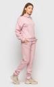 Теплый костюм ангора (розовый)