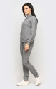 Warm knitted suit (gray)