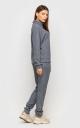 Warm knitted suit (dark-grey)