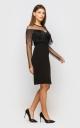 Платье с бахромой (черный)