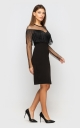 Сукня з бахромою (чорна)