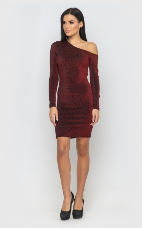Bodycon dress (red)