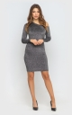 Bodycon dress (gray)