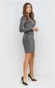 Сукня облягаюча (сіра)