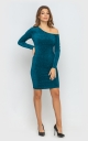 Bodycon dress (emerald)