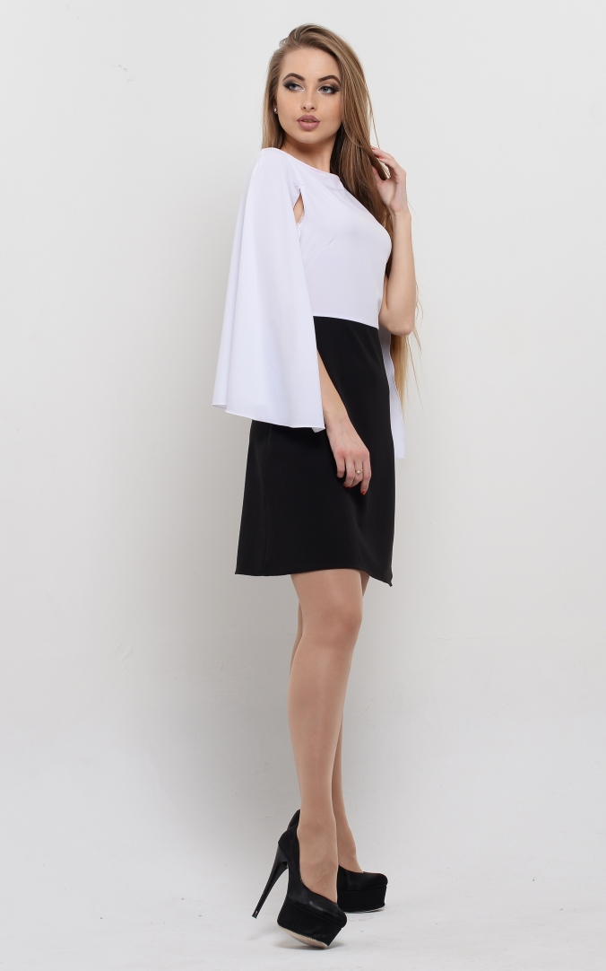 Airy dress-cape