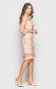 Вечернее платье (персиковое)
